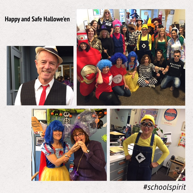 Halloween wishes from Lochside staff