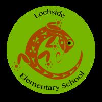 Lochside lizard logo